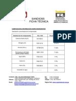 Ficha Técnica - Sandioss  (ROYAL CHEMICAL)