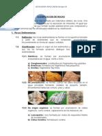 Clasificación de Rocas-Sedimentarias y Metamórficas