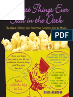 The Best Things Ever Said in the Dark - Movies Quotes by Bruce Adamson ABEE