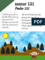 Mazmur 121 - Psalm 121