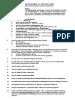 Building Permit Checklist