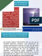 Tema 2 Efectos Fisiologicos de La Electricidad