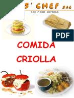 Libro de Comida Criolla