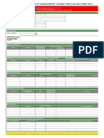 NMT Application Form 2015