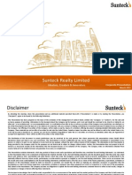 Sunteck Realty - Corporate Presentation - March 2015