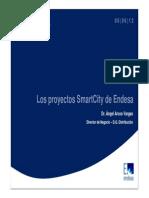 Los Proyectos SmartCity de Endesa. 2012