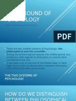 Background of Psychology