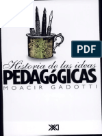 Moacir Gadotti-Historia de Las Ideas Pedagógicas