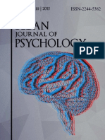 The Bedan Journal of Psychology (2015 Volume 3)