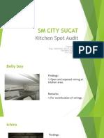 Kitchen Spot Audit