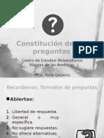 6. Constitución de Las Preguntas