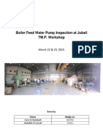 Boiler Feed Water Pump Inspection at Jubail TM.P. Workshop.pdf