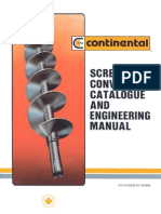 Screw Conveyor Catalogue