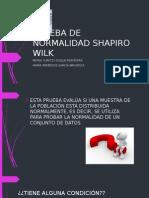 Prueba de Normalidad Shapiro Wilk