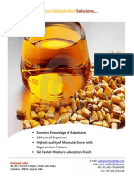 Solution of Ethanol Drying With Molecular Sieve