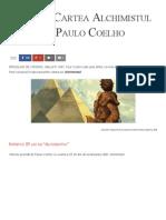 Citește Cartea Alchimistul de Paulo Coelho - Florin Roșoga