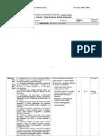 Geografie XII Tehnologic 2 Ore 2014-2015