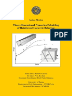[Mordini] 3D Numerical Modeling RC Behavior