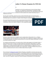 Article   Floyd Mayweather Vs Manny Pacquiao En VIVO (6)