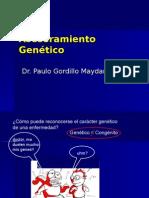 Asesoramiento Genético DR GORDILLO 2014