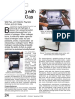 Home Power Article - Barbecuing With Hydrogen