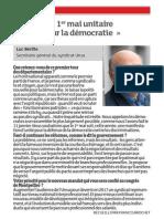 20150325 - Dna Question à Luc Berille