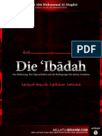Al Ibadah Sheikh Abu Muhammad Al Maqdissi 2011-11-16