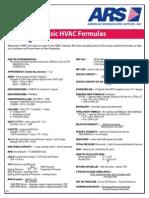 Basic HVAC Formulas - Tech Tip