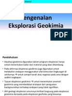 eksplorasi geokimia