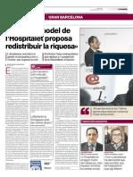 20150325 - El Periódico - Fòrum Primera Plan@ _ El Model de l'Hospitalet Proposa Redistribuir La Riquesa