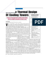 Cooling Tower Deign Guidelines and Procedure