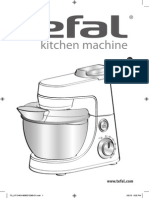 Tefal Kitchen Machine users manual