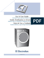 Electrolux Clothes Dryer manual