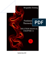 Chapter 12 fundamentals of thermodynamics