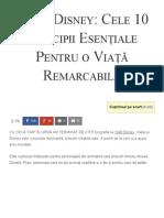 Walt Disney_ Cele 10 Principii Esențiale Pentru o Viață Remarcabilă - Florin Roșoga