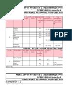 Cement Calculation Sheet