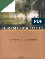 Giannini Humberto - La Metafisica Eres Tu