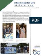 Potch Girls High Newsletter 2 - 25 March 2015