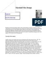 Dr Obadat Courses on Pavement Design and Analysis - Marshall Mix Design Method