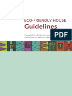 Ecofriendly Guidelines
