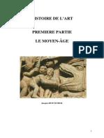 Histoire de l'Art 01 Première Partie Le Moyen-Âge