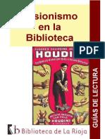 Ilusionismo en La Biblioteca_guia de Lectura