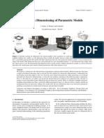 Interactive Dimensioning of Parametric Models