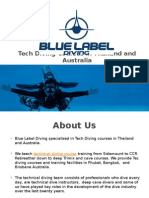 Tech Diving Courses in Phuket, Thailand & Australia
