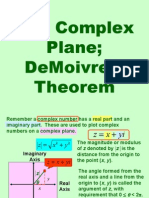 DeMoivres Theorem