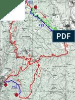 Mappa percorso enduro dei gufi 2015