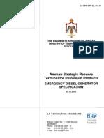 ILF-SPC-SRT-EL-812-0 Emergency Diesel Generator.pdf