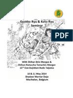 Gyokko Koto Ryu Seminar