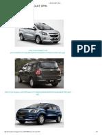 Parâmetros alinhamento Chevrolet Spin