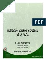 Yuri Nutricion Mineral Y Calidad de Fruta